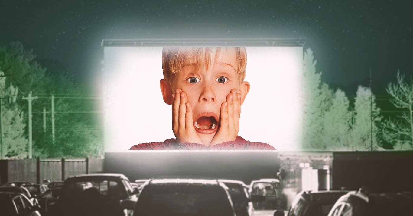 Zoom home Alone Background