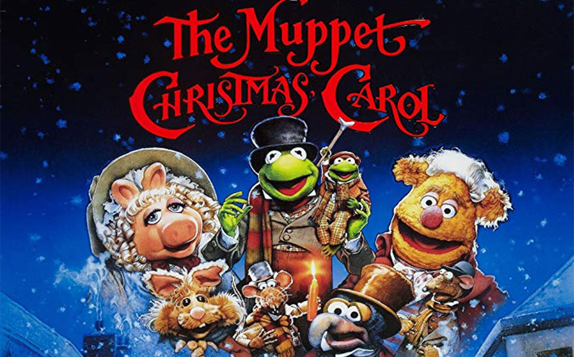 Muppets Christmas Carol funny Zoom Background